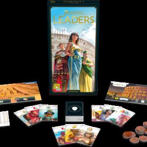 7 Wonders : Leaders (extension – nouvelle edition)