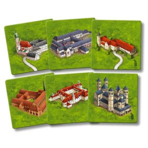Carcassonne – Abbayes d'Allemagne (mini extension)