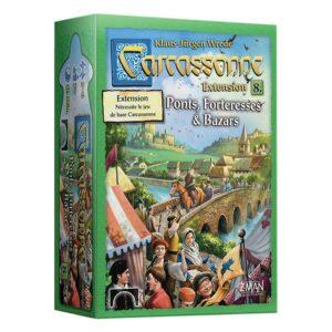 Carcassonne – 8 – Ponts, Forteresses et Bazars (extension)