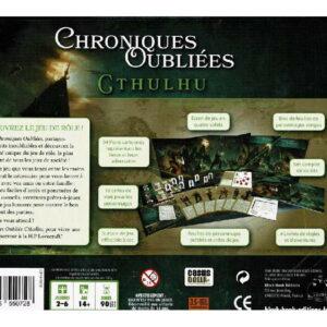 Chroniques Oubliées Cthulhu – Boîte d'Initiation