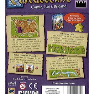 Carcassonne – 6 – Comte, Roi & Brigand (extension)