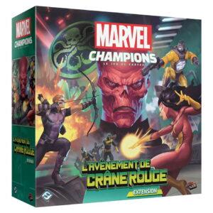 Marvel Champions – Le jeu de cartes : L'avènement de Crâne Rouge (extension)