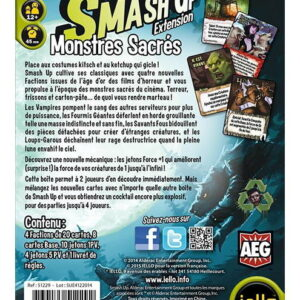 Smash Up : Monstres Sacrés (extension)