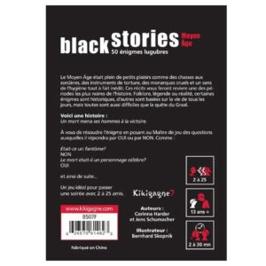Black Stories – Moyen Age