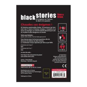 Black Stories – Sexe & Crime