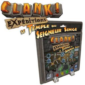 CLANK ! EXPEDITIONS 2 ! Le Temple du Seigneur Singe