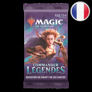 Booster Commander Légendes VF – Magic the Gathering