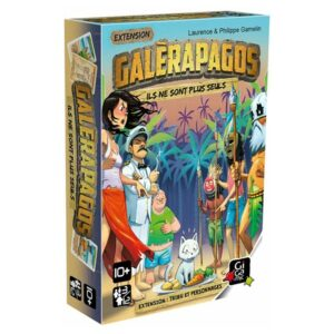 Galèrapagos : tribut et personnages (extension)