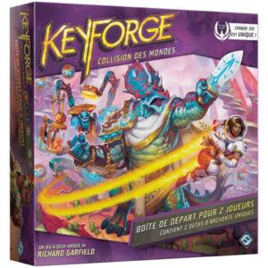 Keyforge : Collision des Mondes – Boîte de Départ pour 2 Joueurs