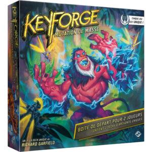 Keyforge : Mutation de Masse – Boite de Départ pour 2 Joueurs