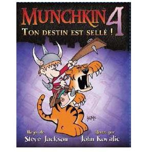 Munchkin 4 : Ton Destin est Scellé !