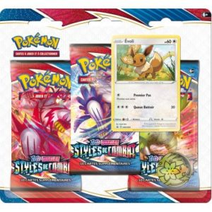 Pokemon – EB05 Styles de Combat Pack 3 Boosters