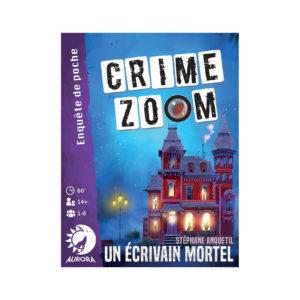 CRIME ZOOM – Un écrivain Mortel